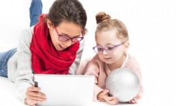 Gafas niños que protegen de la luz azul nociva