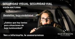 Consejos conducción nocturna
